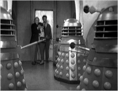 Ian, Susan, and the Doctor are captured by the Daleks